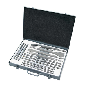 14 Piece SDS-Plus Tungsten Carbide Tip Drill Bits and Breaker Chisels Set