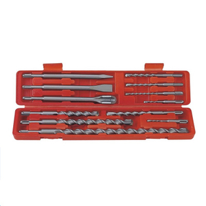 12 Piece SDS Plus Concrete Rotary Hammer Drill Bits & Chisels Set