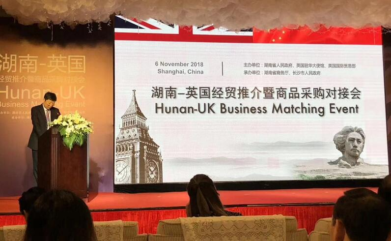 Hunan and UK Business Match Event